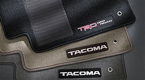 Toyota Tacoma Floor Mats 2006 by 2006 Toyota Tacoma Accessories