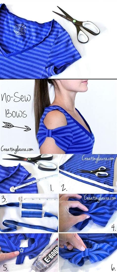 diy clothing projects no sew 30 diy clothes ideas sewing tutorials