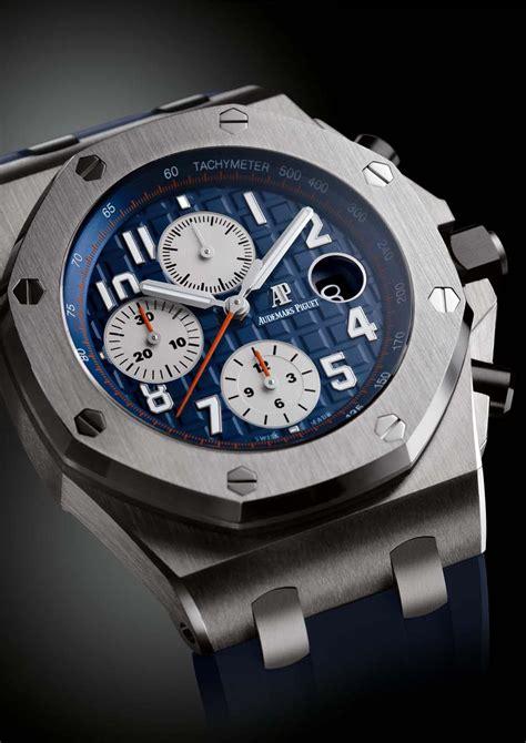 Tali Rubber Ap Audemars Piguet Blue royal oak offshore chronograph royal blue audemars piguet the jewellery editor