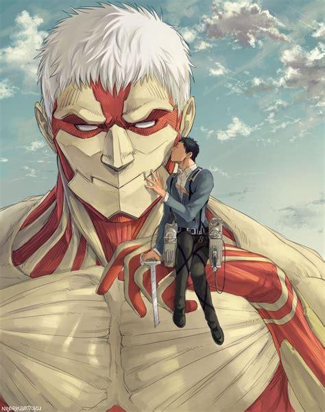 Gelang Anime Attack On Titan Snk bertholdt x reiner anime shingeki no kyojin pixiv id 50573751 member ねね bl world