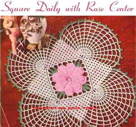doilies crochet images  pinterest place mats