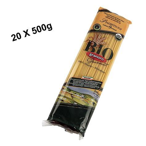Bio 2mm pasta granoro spaghetti vermicelloni no 12 2mm bio 10