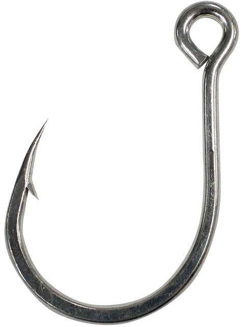 Mustad Kaiju Size 4 Inline Single Hooks 10121npdt Mata Kail Lure Lim mustad kaiju 7x inline single hooks from wellsys tackle