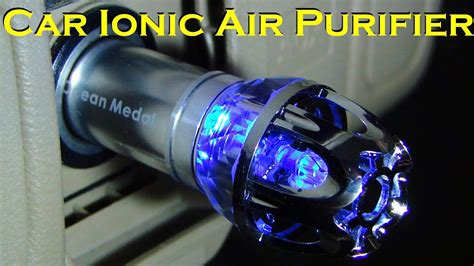 car ionic air purifier portable unit youtube