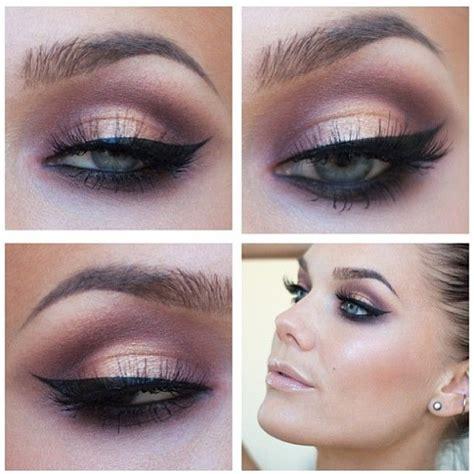 Eye Shadow Brush Brown purple orange eye shadow hair makeup make up eye