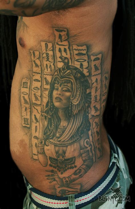 hieroglyphics tattoo by cleopatra hieroglyphics