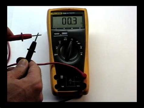 do resistors continuity multimeter ohms and continuity