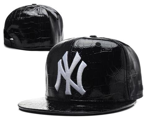 2017 yankess leather caps baseball snapback for boys