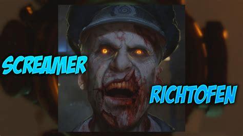 richtofen easter egg bo3 zombies soe easter egg screamer richtofen