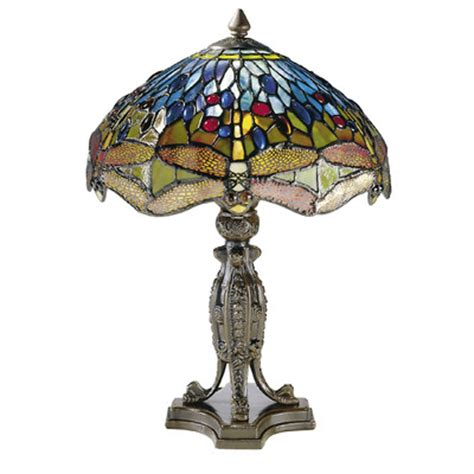 dale tiffany dragonfly l shade dale tiffany dragonfly 17 quot h l with bowl shade