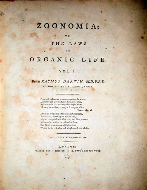 zoonomia or the laws of organic vol 2 of 2 in three parts classic reprint books images