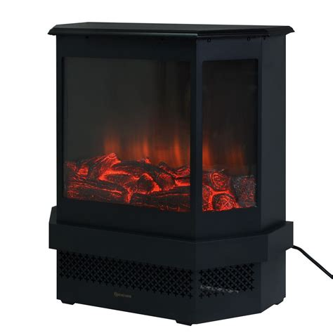 fireplace tempered glass convenience boutique adjustable electric fireplace heater