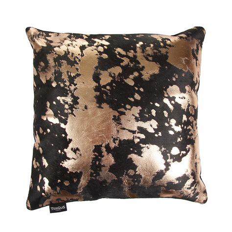 Buy Cow Skin Buy A By Amara Acid Burnt Cowhide Cushion 45x45cm