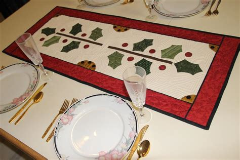 table name pattern jdbc holly table runner by quiltedsunshine craftsy