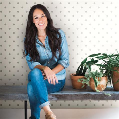 joanna gaines wallpaper joanna gaines dots on dots wallpaper from magnolia home
