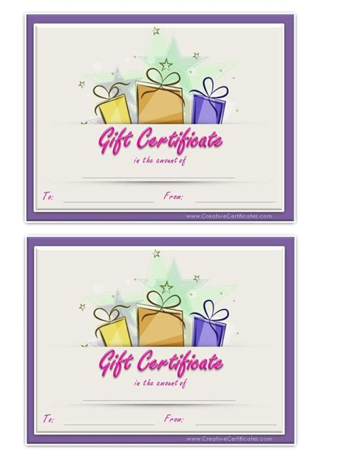 ms word gift certificate template printable spa gift certificate new calendar template site