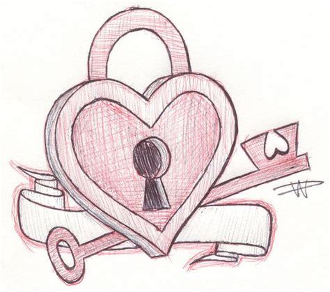 heart sketches key   heart sketch  falloutluver