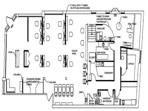 hair salon floor plan maker salon floor plans oval design stroovi