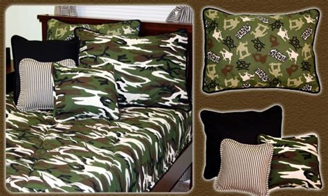 camo bedroom accessories skateboard and camouflage boys bedding and room decor