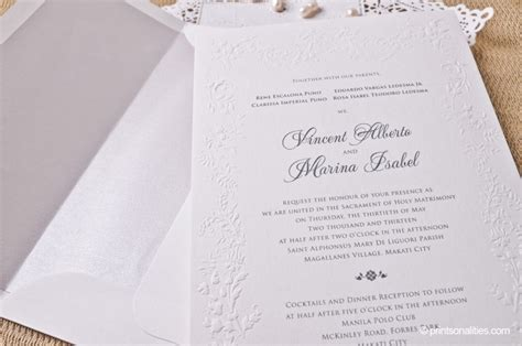 wedding invitation wording tagalog philippines wedding invitation cobypic