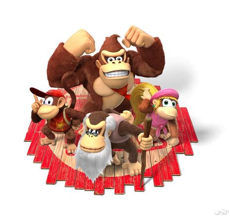 Sonic The Hedgehog Wall Stickers donkey kong country tropical freeze