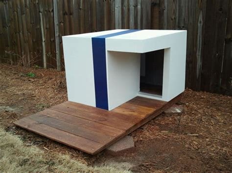 modern dog house plans ultra chic modern dog houses for the pup who has
