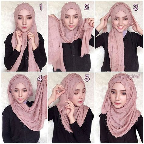 tutorial hijab modis ala dian pelangi 25 kreasi tutorial hijab pesta simple terbaru 2018