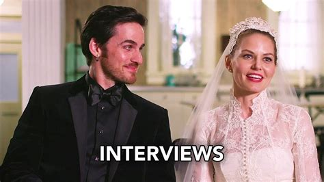 once upon a time 6x20 cast interviews quot the song in your heart quot hd musical episode youtube