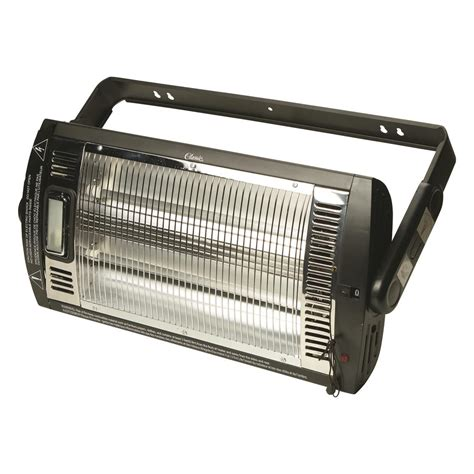 Profusion Heat Ceiling Mounted Workshop Heater With Ceiling Light With Heater
