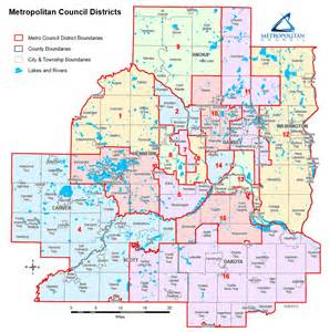 Twin Cities Metro Map by The Met Council Is A Great Idea But The Full Council