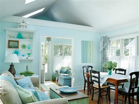 cottage interior design ideas small lake cottage with turquoise interiors home bunch