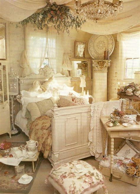 schaebige schlafzimmer dekorationsideen