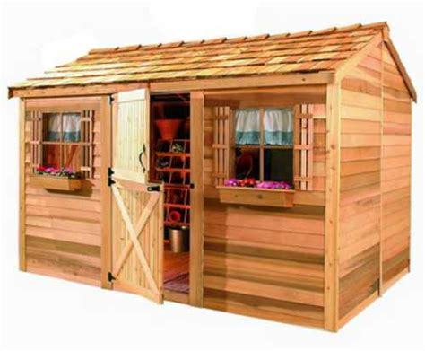 cedarshed industries tiny house blog cedarshed cabana 12x10 shed cb1210 free shipping