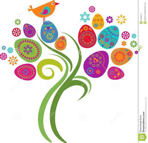 immagini clipart gratis albero di pasqua illustrazione vettoriale illustrazione