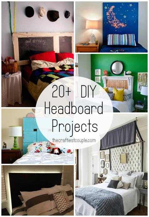 diy projects for couples 20 diy headboard projects the craftiest
