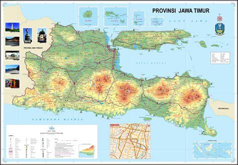T Shirt Backpacker Indo Peta peta jawa timur indonesia
