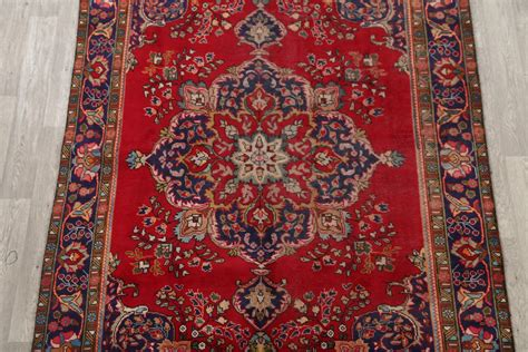 Cheap Area Rugs 6x9 Clearance 6x9 Mashad Area Rug Wool Carpet 9 5 Quot X 6 5 Quot Ebay
