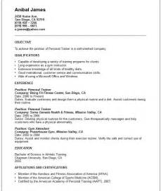 Example Of Resume by Sports And Leisures Resume Examples