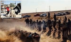 horrific  photographs  isis atrocities daily mail