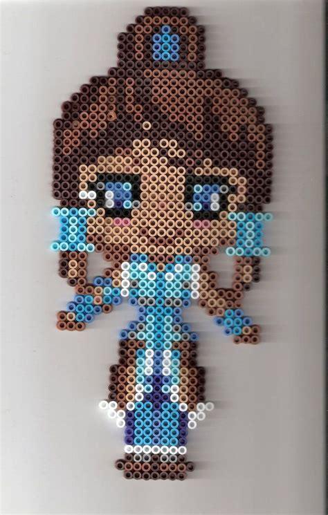 iron bead designs avatar korra perler bead by residentevil4ever bead loom