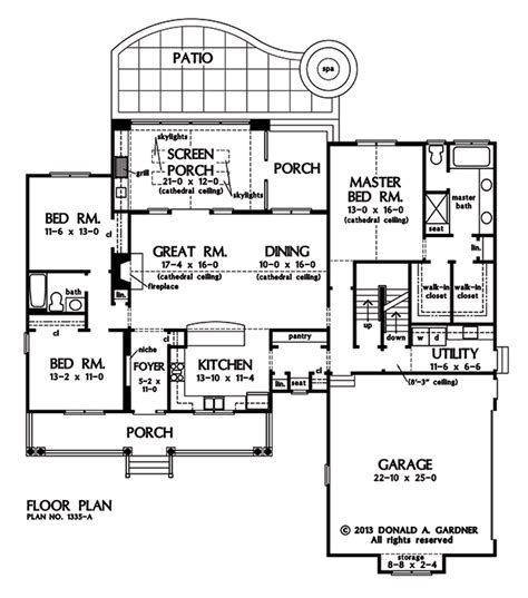 home plan the coleraine by donald a gardner architects home plan the coleraine by donald a gardner architects