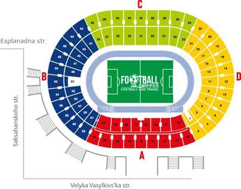 singapore national stadium seating plan olympic stadium fc dynamo kyiv football tripper