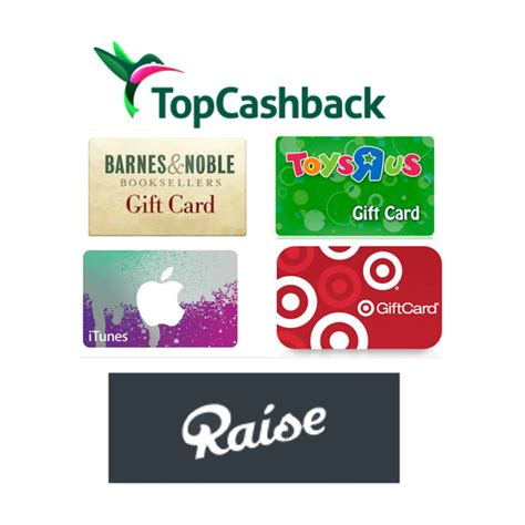 free 20 gift card at raise topcashback deal ftm - Free 20 Gift Card