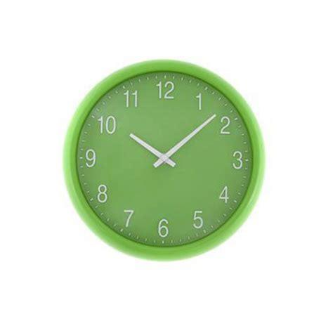 green kitchen clocks green quartz wall clock unique home living