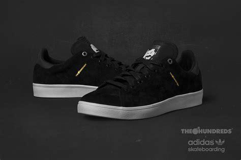 Adidas Teh Hunderds Black 01 the hundreds x adidas stan smith vulc sneakers magazine