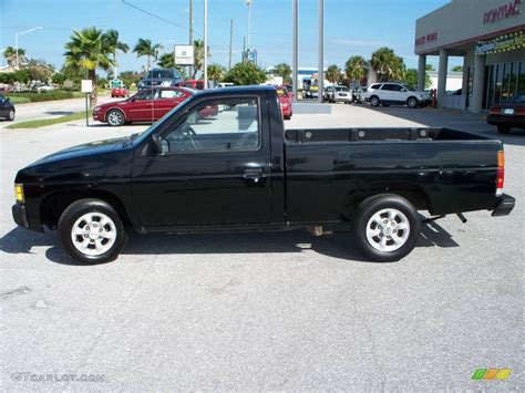 nissan pickup 1996 1996 super black nissan hardbody truck xe regular cab