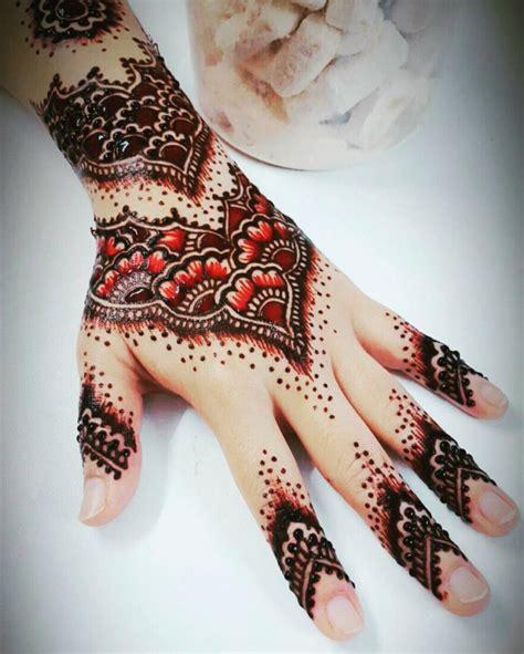 tato henna tangan simple gambar inai simple best image hd
