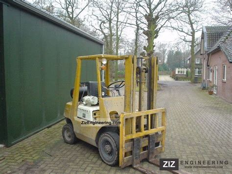 toyota 25 forklift specifications toyota 02 fg 25 1987 front mounted forklift truck photo