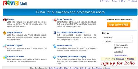 email zoho zoho mail image collections invitation sle and