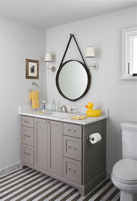 Gray And Yellow Bathroom Ideas Yellow And Gray Bathroom Design Ideas